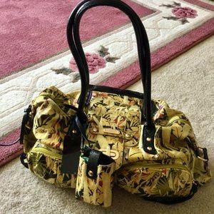 Sharif Studio handbag w/ 3 extra pieces very nice.